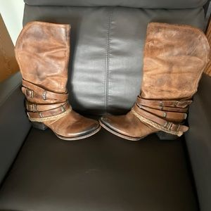 Freebird By Steven Drove Leather Boots